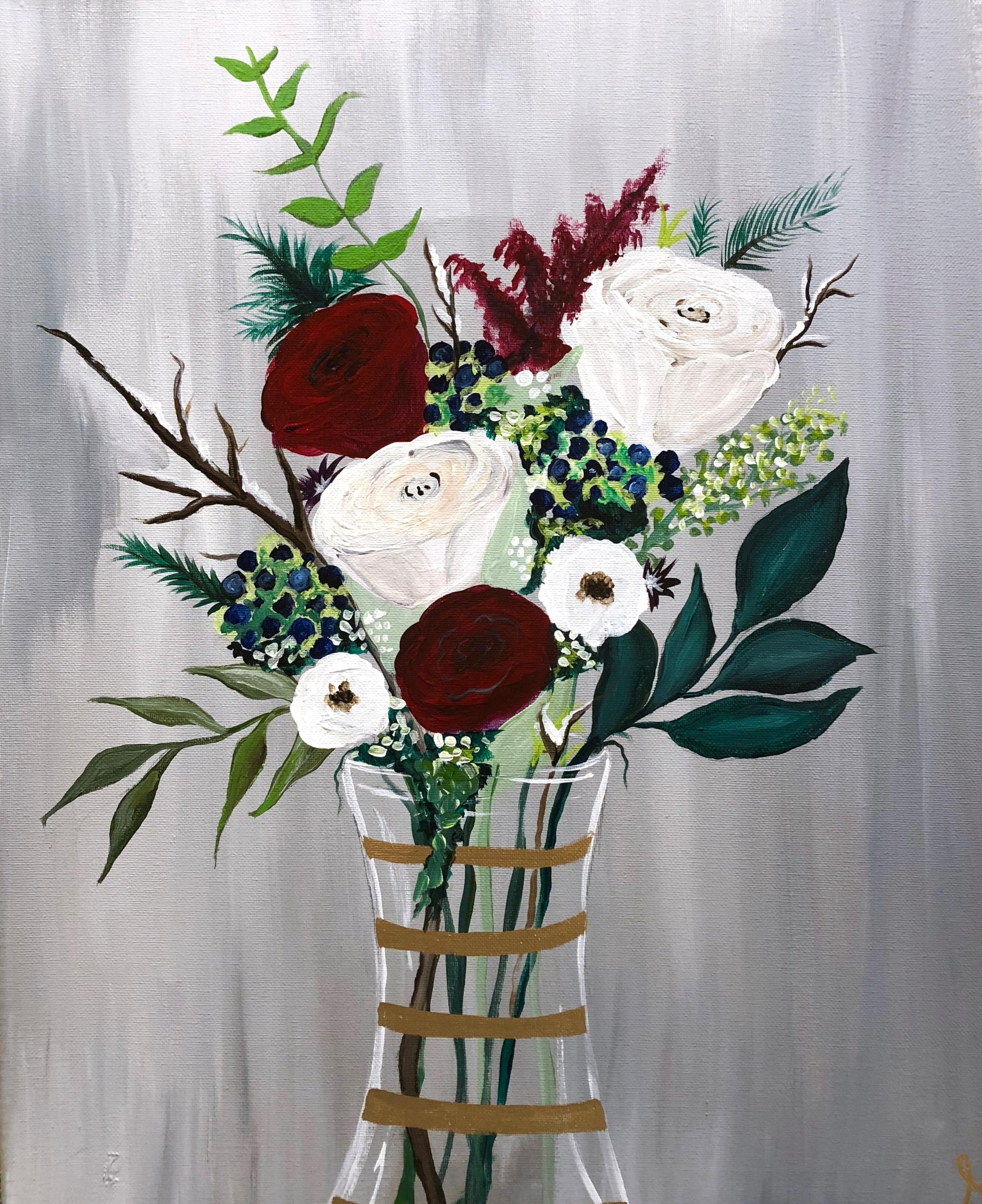 1.14 Winter Bouquet - Uncorked Creations | Binghamton