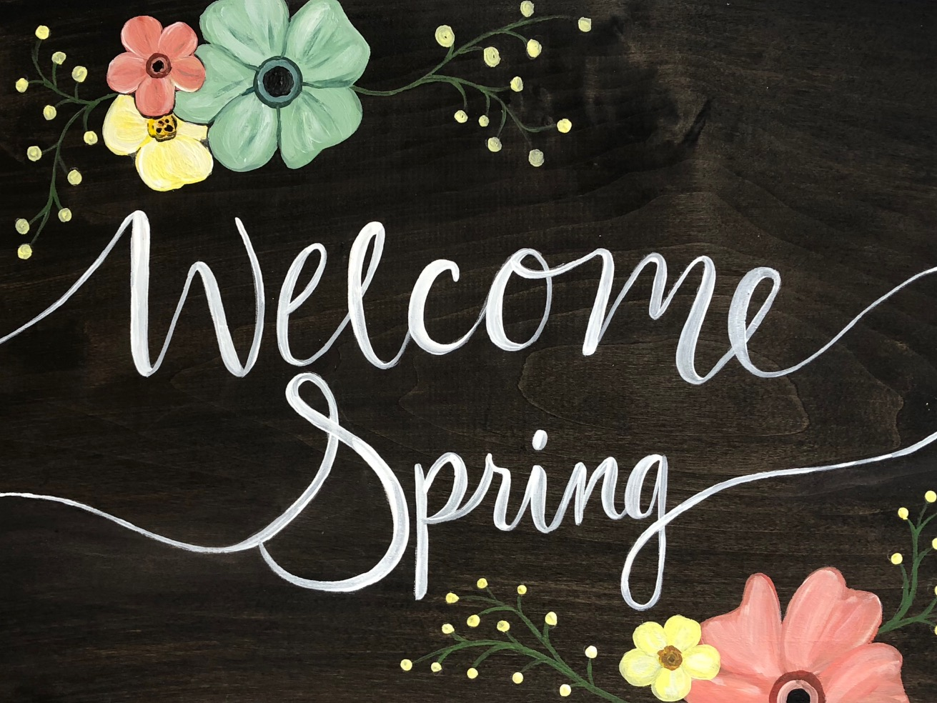 Welcome Spring 4.12 - Uncorked Creations   Binghamton