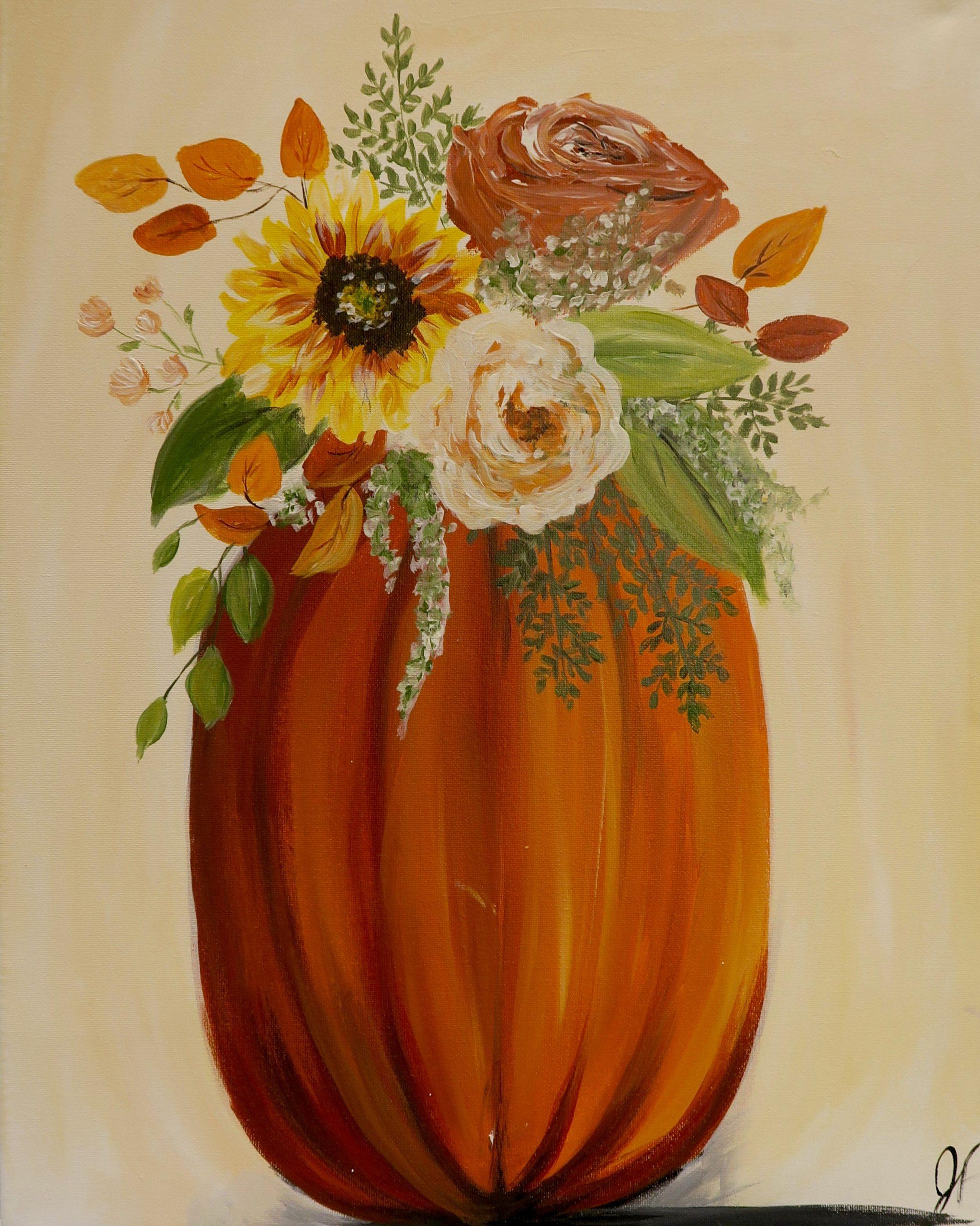 Autumn Bouquet Uncorked Creations Binghamton